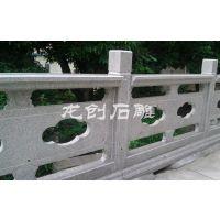 汉白玉石栏杆哪里好 龙创石雕栏杆栏板石护栏厂家