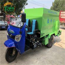 自动搅拌的撒料车 牛场建设自动喂料车 移动式投料车