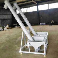 玉米装车螺旋提升机 宜城市沙子提升机 稻谷装车绞龙上料机