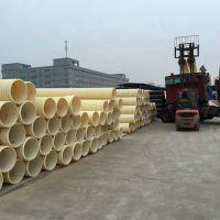 陕西PVC双壁波纹管 塑料市政排水管 300/400/500波纹管排污管SN4/SN8厂家直销