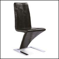 【锐鑫】批发时尚现代餐桌椅组合 酒店椅 宴会椅 金属餐椅