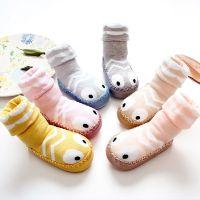 女式男宝宝外出新生儿地板鞋秋冬款儿童袜连体婴幼儿保暖袜学步鞋