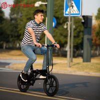 16寸助力电单车迷你折叠自行车