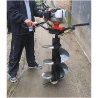 喀什新型挖坑机价格 四冲程汽油挖坑机型号操作简单