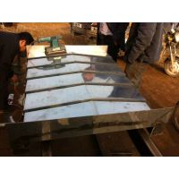 厂家供应台湾机床导轨不锈钢钢板钢板防护罩