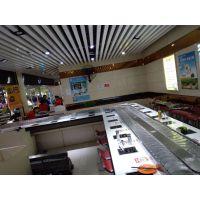 青岛李沧区万仕和旋转火锅设备 全新餐饮回转寿司涮烤一体火锅设备多少钱
