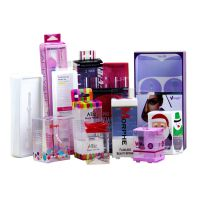 pvc包装盒 毛刷吸塑包装盒 化妆品塑料包装盒 高档礼品盒厂家