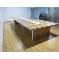 大小型会议桌长桌接待洽谈桌椅组合桌子工作台办公桌简约现代