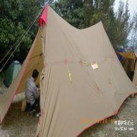 三峰出户外8-12人A塔帐 基地营地 野营露营 帐篷 高山防风防暴雨
