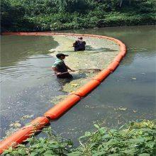 北京通州河道拦污索 拦污栅浮筒 水上漂浮物拦截浮体