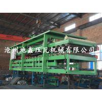 泡沫板复合机 岩棉夹芯板生产线 地鑫牌彩钢两用复合瓦机器