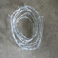 双股刺绳 pvc涂塑刺绳 刺丝围网