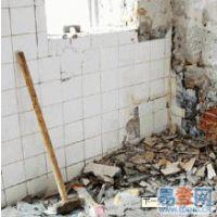 苏州吴中区室内墙体拆除、隔断拆除、低价承接装修拆除,拆除施工