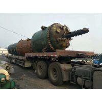 中国太牌二手6300升耐酸性闭式搪瓷反应釜规格行情