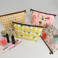 化妆包小号便携旅行简约化妆袋手拿包韩国包中包随时化妆品收纳包