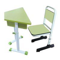 单人学习椅,课桌台,厂家直销金属好椅达学生台