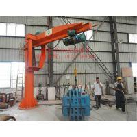洛阳悬臂吊生产厂家 1T电动手动旋转吊机 移动方便小吊车