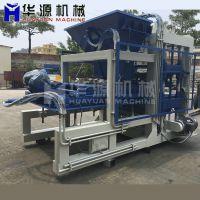 QT12-15大型制砖设备 液压免烧砖机 静压水泥砖机 福建砌块砖机