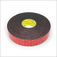 3M5962 VHB黑色丙烯酸泡棉胶带超强粘力双面胶