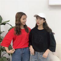 2019夏季跑量T恤清货韩版女装上衣几元短袖便宜服装两三块钱短袖清货