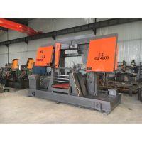 济南宁瑞机械专供双立柱卧式半自动锯床GZ-4280高精度锯切质优价廉锯切各种钢材