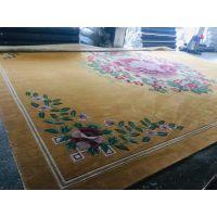 深圳手工地毯腈纶地毯定制想要的图案