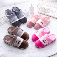 2018新款冬季棉拖鞋女居家室内包跟男士保暖厚底家用防滑月子棉鞋