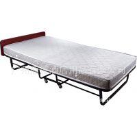 供应1米宽豪华弹簧折叠床 酒店套房单人海绵床 办公白领午休折床