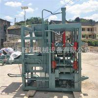 胜嘉 QT4-35免烧砖头砖机 小型半自动水泥砖机 空心砌块砖机