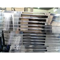 304#不锈钢亮面矩形管50*25*0.9激光切割加工 供应激光切管加工