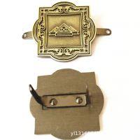 定做锌合金五金标牌 压铸加工箱包配件五金摆件金属LOGO铭牌制作