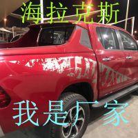 生产出口TOYOTA海拉克斯配件Hilux Revo贴纸皮卡车改装车贴彩条