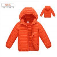 厂家直销特价批发儿童羽绒服男童秋冬轻薄款棉衣女童外套一件代发