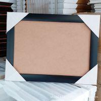 A4黑色PS发泡相框 镜框 照片墙  送PVC透明胶片