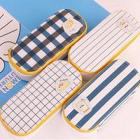 0013帆布创意笔袋韩国大容量笔盒 学生女简约文具盒 铅笔袋