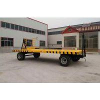 11T平板拖车 11吨拖车 厂区拖车 平板拖车厂家