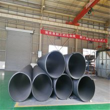 大口径排污管 河南排污钢带波纹管厂家 1.2米钢带波纹管报价
