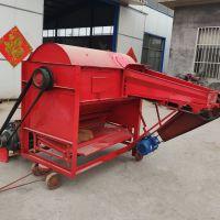 方便移动新型脱粒机 大型稻麦打场机 长期供应125四清打谷机