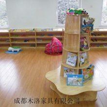 雅安/马尔康幼儿园书柜/书架定做 成都木洛供货迅速