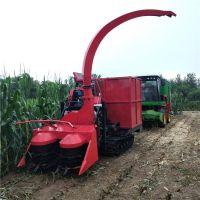 生产各种型号玉米秸秆青储黄储机 履带式粉碎青贮机
