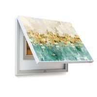 免打孔电表箱遮挡画配电箱电闸装饰画瓷砖壁画电表盒挂画北欧抽象