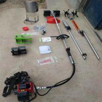 打草头除草器 园林工具套装汽油割草机 多功能除草机