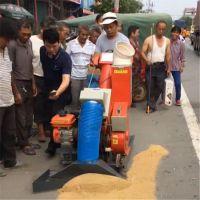 马路平地粮食收集装袋机 机器质保两年小麦大豆收集装袋机价格