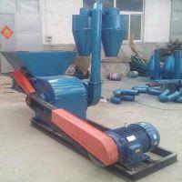 大型自动进料粉草机 圣鲁玉米杆粉碎机