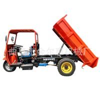 电启动简易棚三马子 18马力家用柴油三轮车 7速柴油工程三轮车