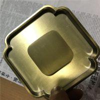德和定制钛金不锈钢拉手 金属拉手 酒店玻璃门仿古家具定制 不锈钢拉丝古铜色