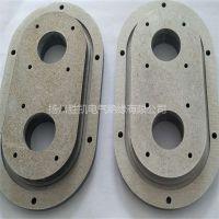 耐高温云母板 雕刻床转孔 云母异形件加工 可来图定制