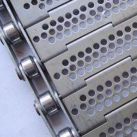 厂家直销不锈钢链板输送线 耐腐蚀冲孔链板 输送机械配件