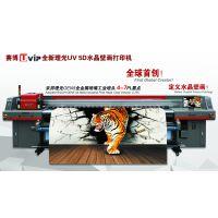 上海5D瓷砖背景墙 艺术挂画 壁画 理光UV万能平板打印机