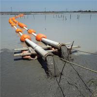 10寸抽沙管道浮体海上管线浮漂造价